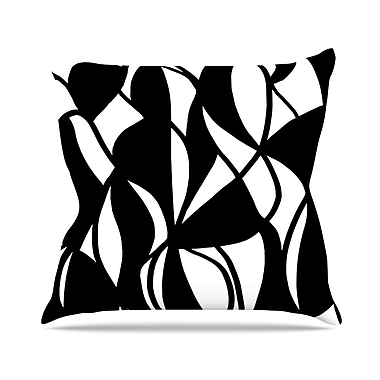 KESS InHouse Sinuous by Emine Ortega Throw Pillow; 20'' H x 20'' W x 1'' D