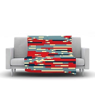 KESS InHouse Nada by Trebam Fleece Throw Blanket; 80'' H x 60'' W x 1'' D