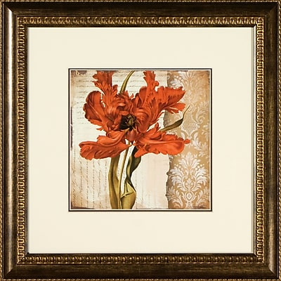 PTM Images Tulips Framed Graphic Art