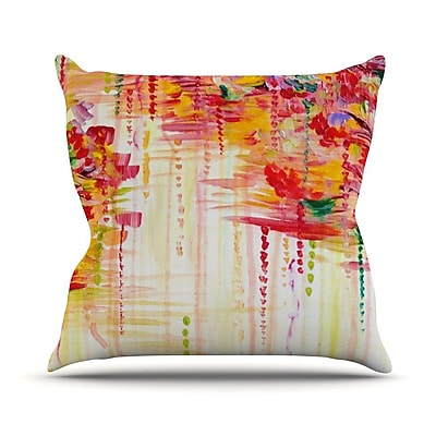 KESS InHouse Stormy Moods by Ebi Emporium Throw Pillow; 20'' H x 20'' W x 4'' D