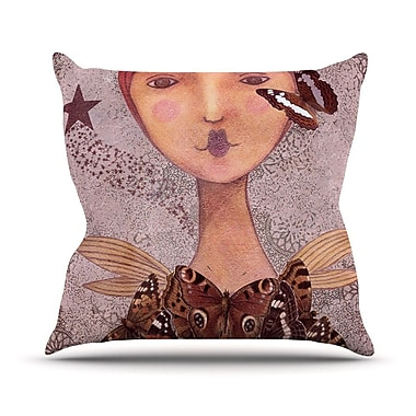 KESS InHouse Prudence by Suzanne Carter Portrait Throw Pillow; 26'' H x 26'' W x 5'' D
