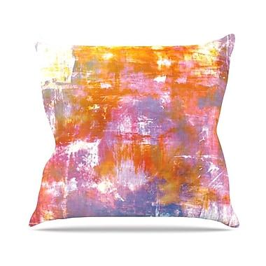 KESS InHouse Off The Grid II by Ebi Emporium Throw Pillow; 16'' H x 16'' W x 3'' D