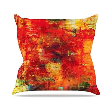 KESS InHouse Autumn Harvest by Ebi Emporium Throw Pillow; 16'' H x 16'' W x 3'' D