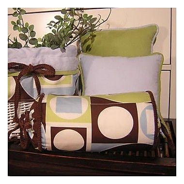 Brandee Danielle Modern Baby Boy Caffe Bolster Pillow