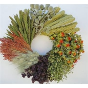Dried Flowers and Wreaths LLC Good Earth 22'' Wreath