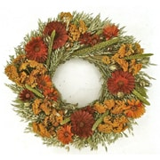 Dried Flowers and Wreaths LLC Midwest Garden Wreath