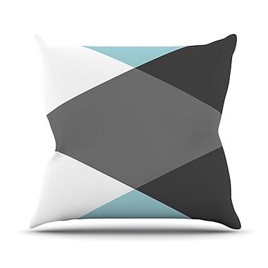 KESS InHouse Diamonds by Suzanne Carter Throw Pillow; 16'' H x 16'' W x 3'' D