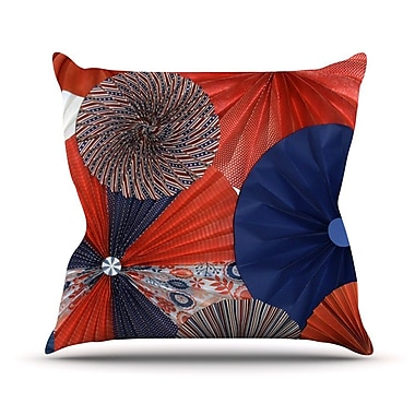 KESS InHouse Liberty by Heidi Jennings Throw Pillow; 20'' H x 20'' W x 4'' D