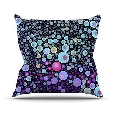 KESS InHouse Deep by Sylvia Cook Throw Pillow; 20'' H x 20'' W x 4'' D