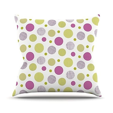 KESS InHouse Rhapsody Dot by Julie Hamilton Throw Pillow; 20'' H x 20'' W x 4'' D
