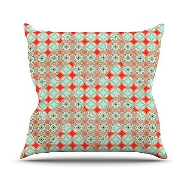 KESS InHouse Traveling Caravan Pattern Throw Pillow; 20'' H x 20'' W x 1'' D
