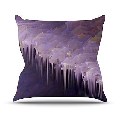 KESS InHouse Malibu by Michael Sussna Throw Pillow; 26'' H x 26'' W x 5'' D