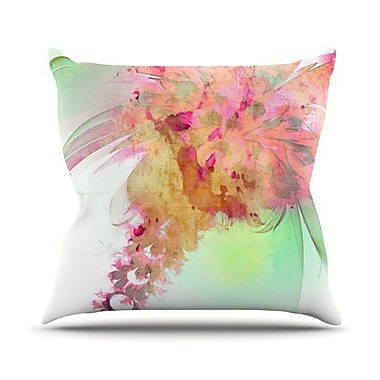KESS InHouse Lily by Alison Coxon Throw Pillow; 26'' H x 26'' W x 1'' D