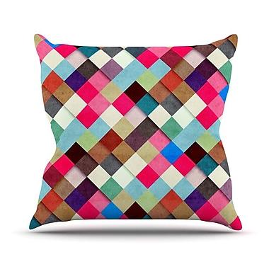 KESS InHouse Ubrik by Danny Ivan Throw Pillow; 26'' H x 26'' W x 1'' D