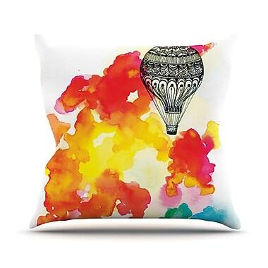 KESS InHouse Come Away w/ Me by Sonal Nathwani Throw Pillow; 20'' H x 20'' W x 4'' D