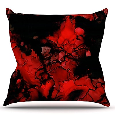 KESS InHouse Vesuvius by Claire Day Throw Pillow; 20'' H x 20'' W x 1'' D