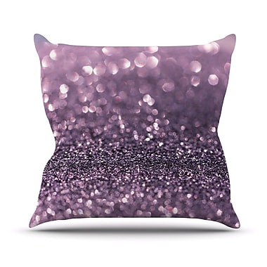 KESS InHouse Sparkle by Debbra Obertanec Glitter Throw Pillow; 18'' H x 18'' W x 1'' D