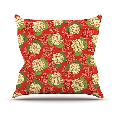 KESS InHouse Cammelia by Holly Helgeson Throw Pillow; 20'' H x 20'' W x 4'' D