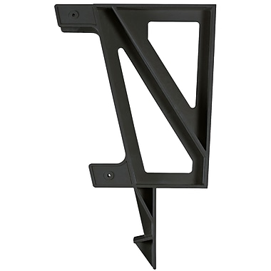 2x4 Basics Dekmate Bench Brackets (Set of 2); Black