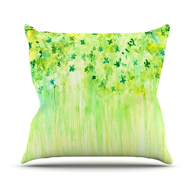 KESS InHouse April Showers by Rosie Brown Throw Pillow; 16'' H x 16'' W x 3'' D