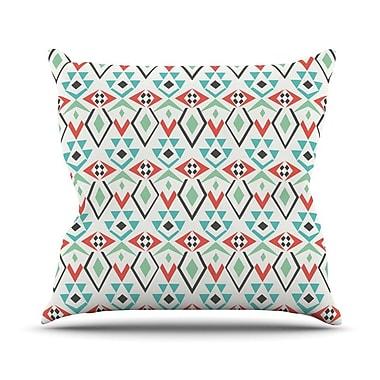 KESS InHouse Tribal Marrakech by Pom Graphic Throw Pillow; 20'' H x 20'' W x 4'' D