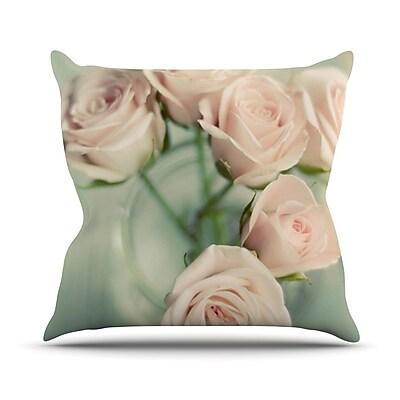 KESS InHouse Romance by Cristina Mitchell Throw Pillow; 18'' H x 18'' W x 1'' D