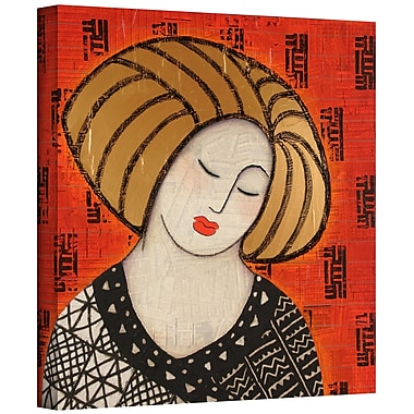 ArtWall 'Deeper Still' by Gloria Rothrock Painting Printon Wrapped Canvas; 14'' H x 14'' W