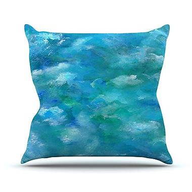KESS InHouse Ocean Waters by Rosie Brown Throw Pillow; 20'' H x 20'' W x 4'' D