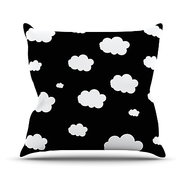 KESS InHouse Clouds by Suzanne Carter Throw Pillow; 26'' H x 26'' W x 5'' D