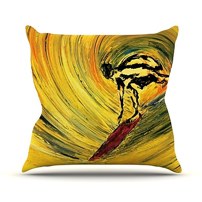 KESS InHouse Suppose by Josh Serafin Throw Pillow; 26'' H x 26'' W x 5'' D