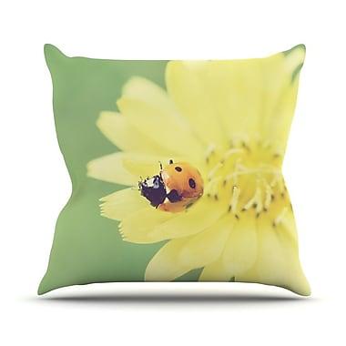 KESS InHouse Little Lady Throw Pillow; 20'' H x 20'' W x 1'' D
