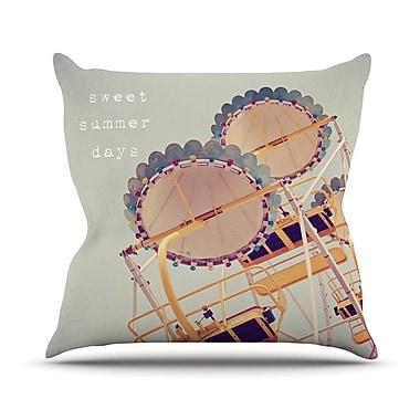 KESS InHouse Sweet Summer Days by Susannah Tucker Carnival Throw Pillow; 20'' H x 20'' W x 4'' D