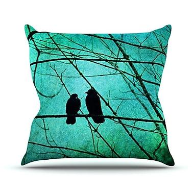 KESS InHouse Smitten by Robin Dickinson Throw Pillow; 18'' H x 18'' W x 3'' D