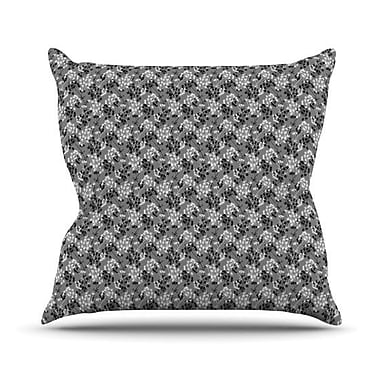 KESS InHouse Dandy by Holly Helgeson Floral Throw Pillow; 26'' H x 26'' W x 1'' D