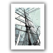 ArtWall 'Sailing on Star of India II' by Linda Parker Photographic Print on Wrapped Canvas