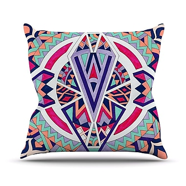 KESS InHouse Abstract Journey by Pom Graphic Tribal Throw Pillow; 26'' H x 26'' W x 5'' D