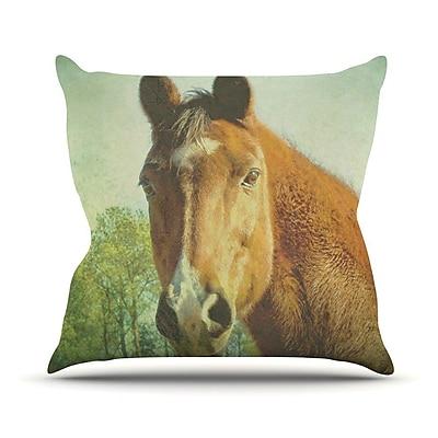 KESS InHouse CT by Robin Dickinson Throw Pillow; 18'' H x 18'' W x 3'' D