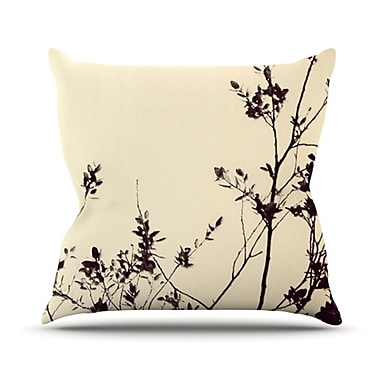 KESS InHouse Silhouette by Skye Zambrana Throw Pillow