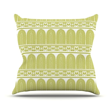 KESS InHouse Tribal by Nandita Singh Throw Pillow; 20'' H x 20'' W x 4'' D