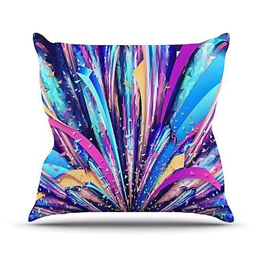 KESS InHouse Enjoy Life by Danny Ivan Throw Pillow; 26'' H x 26'' W x 1'' D