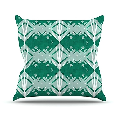 KESS InHouse Diamond by Alison Coxon Throw Pillow; 18'' H x 18'' W x 1'' D