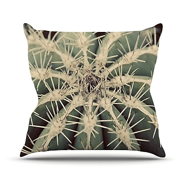 KESS InHouse Cactus Plant Throw Pillow; 20'' H x 20'' W x 1'' D