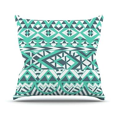 KESS InHouse Tribal Simplicity by Pom Graphic Throw Pillow; 18'' H x 18'' W x 3'' D