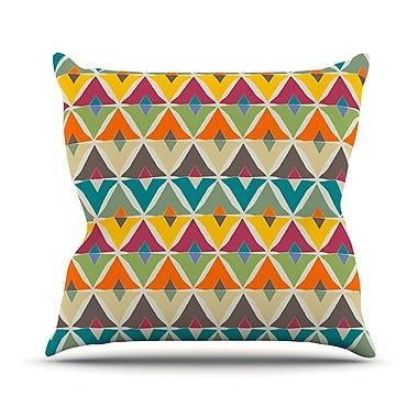 KESS InHouse My Diamond by Julia Grifol Throw Pillow; 16'' H x 16'' W x 3'' D