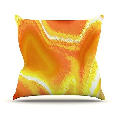 KESS InHouse Sahara by Oriana Cordero Throw Pillow; 20'' H x 20'' W x 4'' D