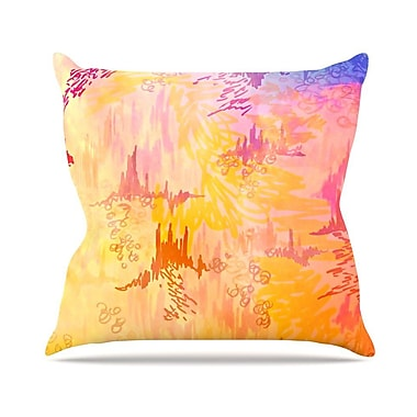 KESS InHouse Sky Risers II by Ebi Emporium Throw Pillow; 16'' H x 16'' W x 3'' D