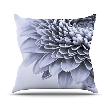 KESS InHouse A Flower by Iris Lehnhardt Petals Throw Pillow; 20'' H x 20'' W x 4'' D