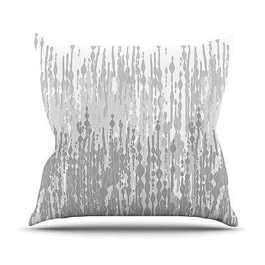 KESS InHouse Drops by Frederic Levy-Hadida Throw Pillow; 18'' H x 18'' W x 3.7'' D