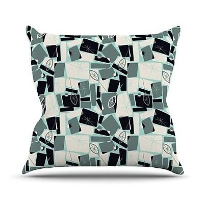 KESS InHouse Vacation Days Chess by Allison Beilke Throw Pillow; 16'' H x 16'' W x 1'' D