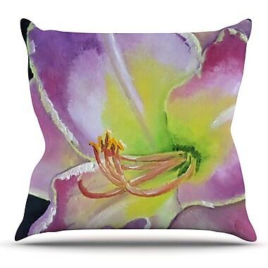 KESS InHouse Cathy Rodgers Throw Pillow; 18'' H x 18'' W x 1'' D